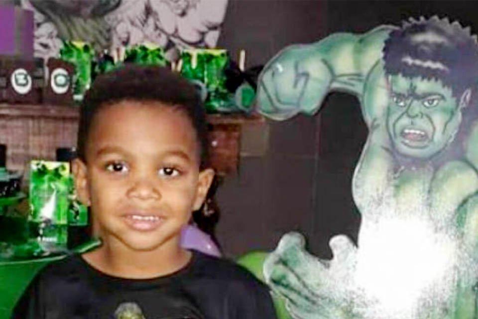 Menino Enzo morreu com um tiro no peito durante festa de aniversário