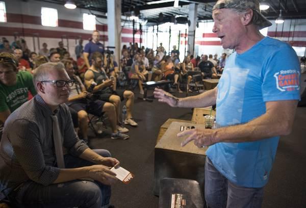 Fundador da CrossFit Greg Glassman
