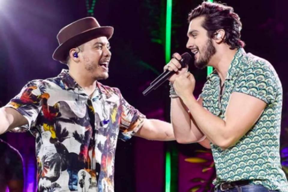 Wesley Safadão e Luan Santana