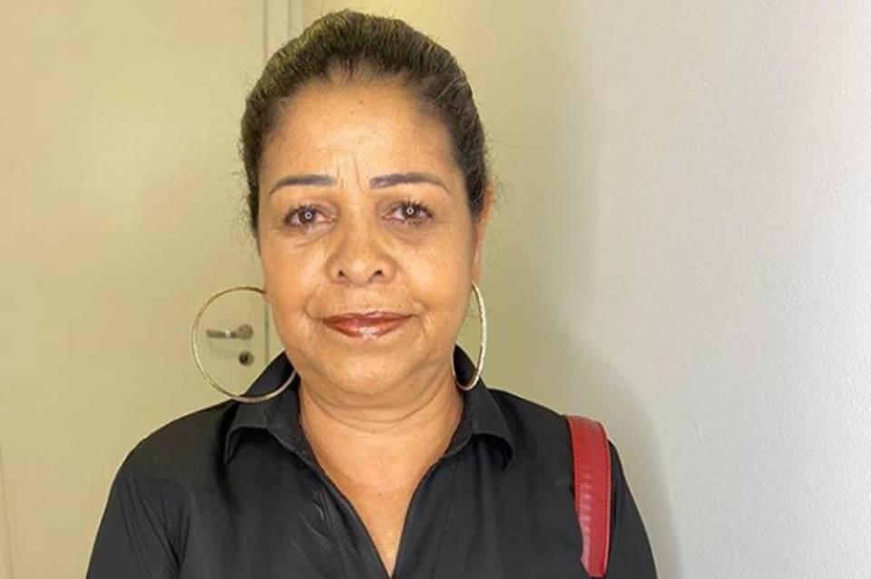 Dora Nunes, mãe de Munik Nunes