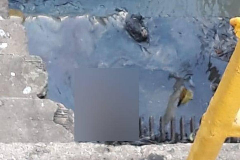 Feto é encontrado em estação de esgoto em Cuiabá