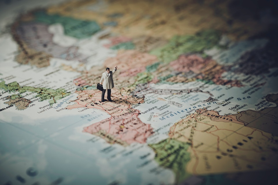 mapa viagens