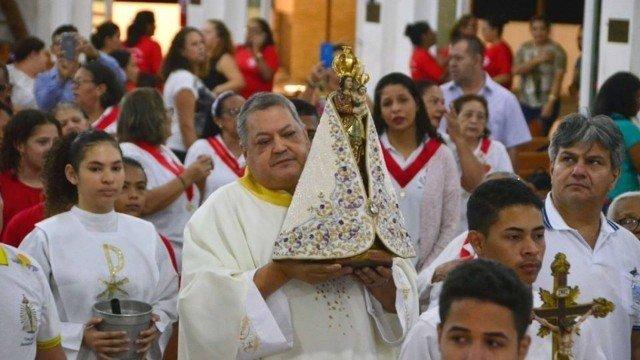 padre Marcos Vinício Miranda Vieira, de 52 anos, vítima da Covid-19