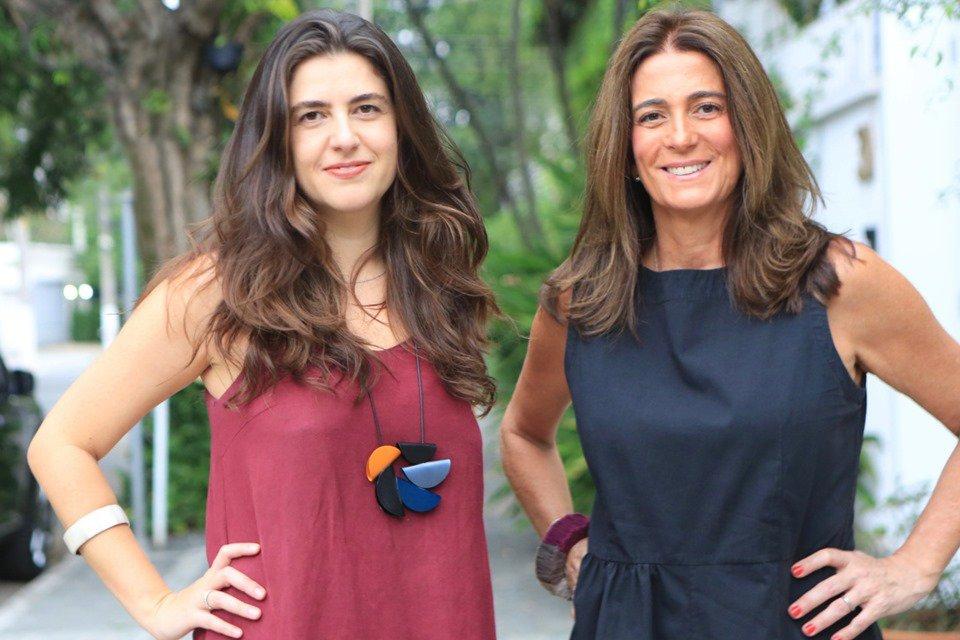Sócias da Superbacana+ Julia Meirelles e Vivian Leite