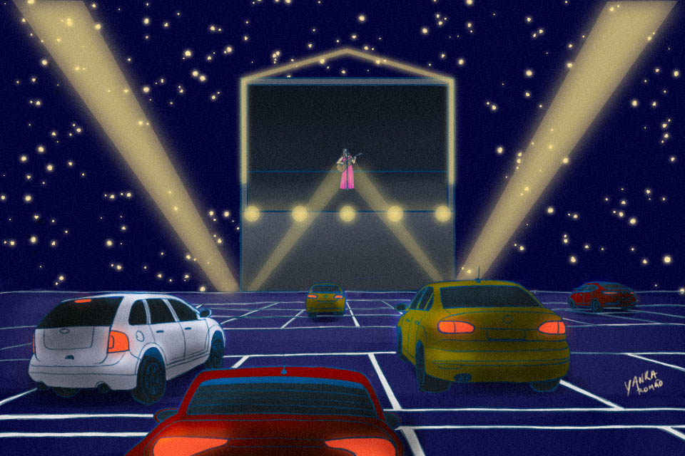 Drive-in shows