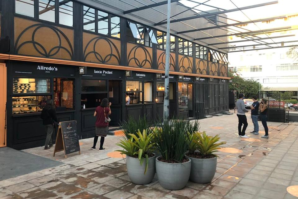 Nova Praça das avós, localizada no beco da 506 Sul