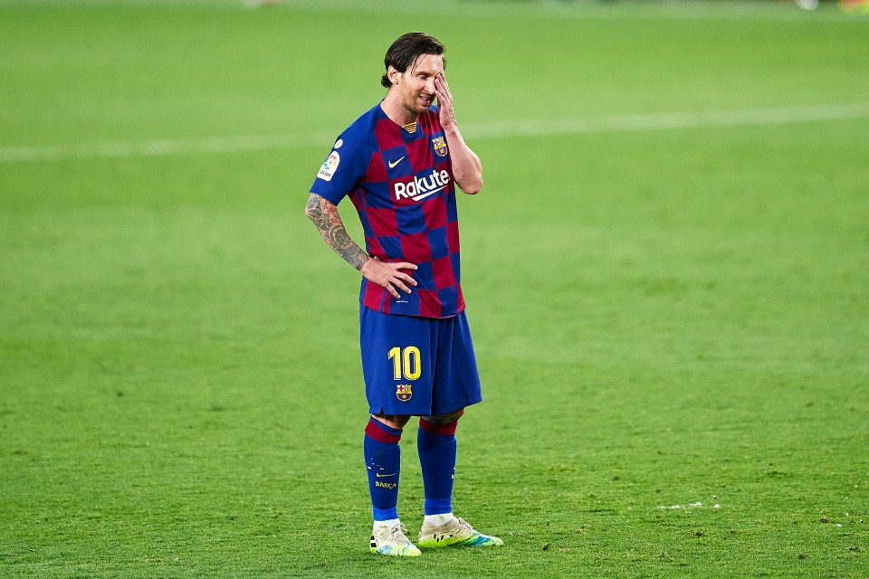 Barcelona, Messi