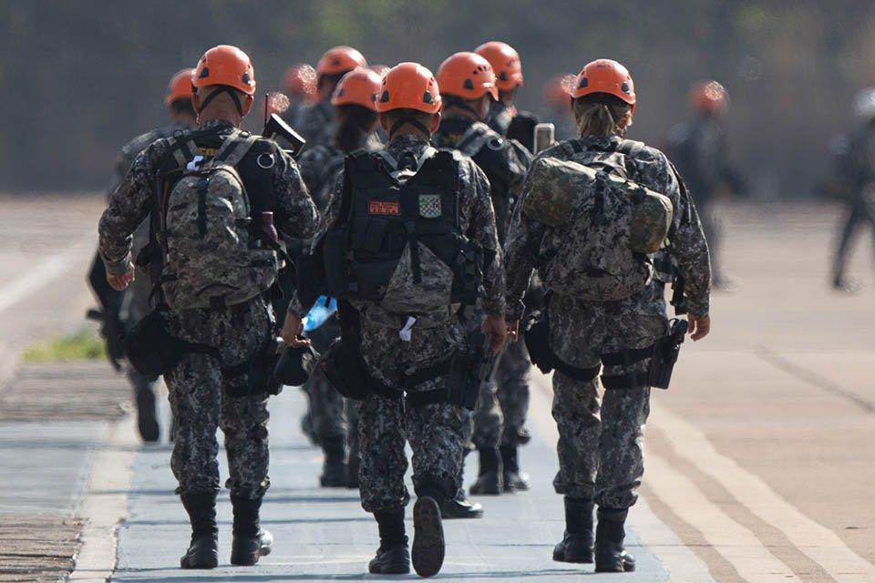 Força Nacional embarcou para amazonia para ajudar a conter incêndios