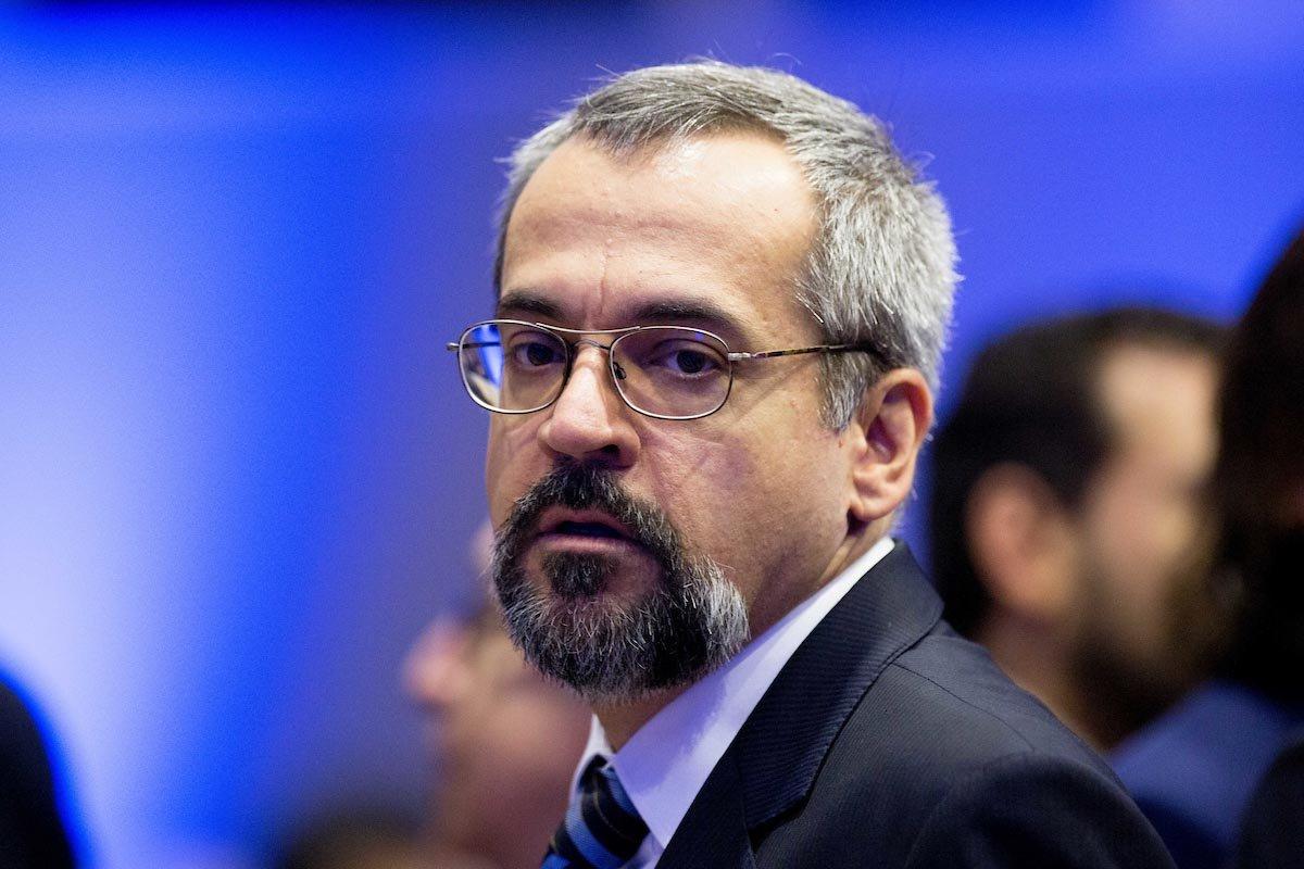 Ex ministro da Educação Abraham Weintraub