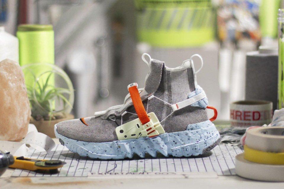 Tênis Space Hippie, da Nike