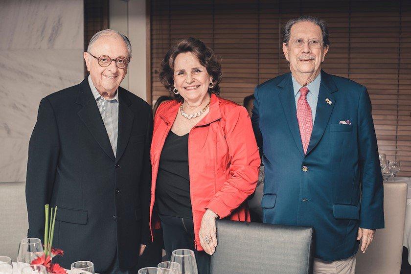 Celso Kaufman, Maria Josina e Arnaldo Cunha Campos