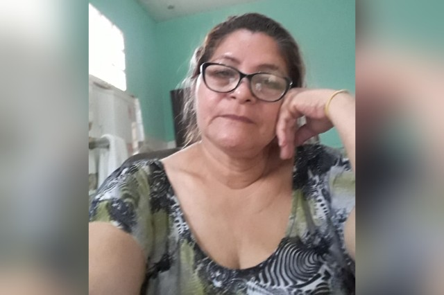 A diarista Maria Oneide, de 57 anos, recebeu a negativa do governo federal para o auxílio emergencial