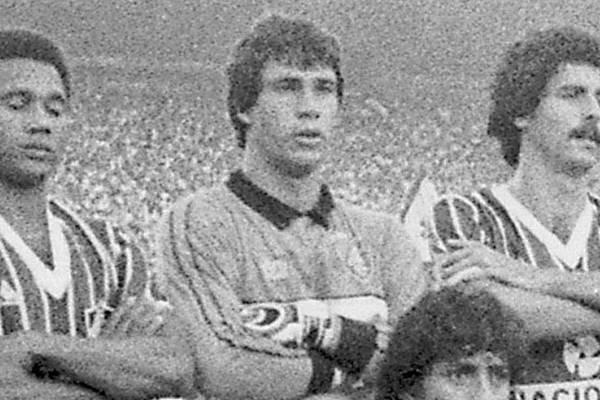 Paulo Victor, na época em que era goleiro do Fluminense