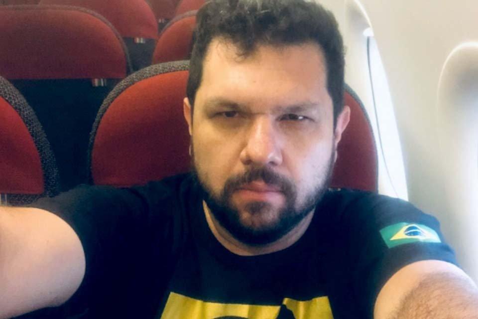 Blogueiro Bolsonarista Oswaldo Eustáquio