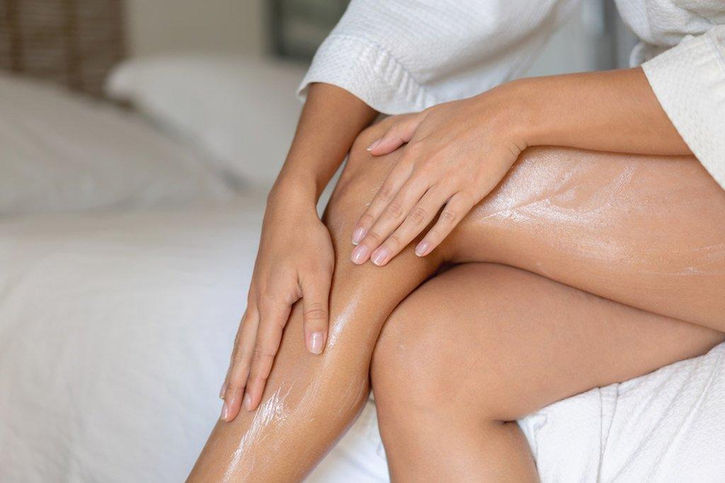 pernas mulher combate à celulite