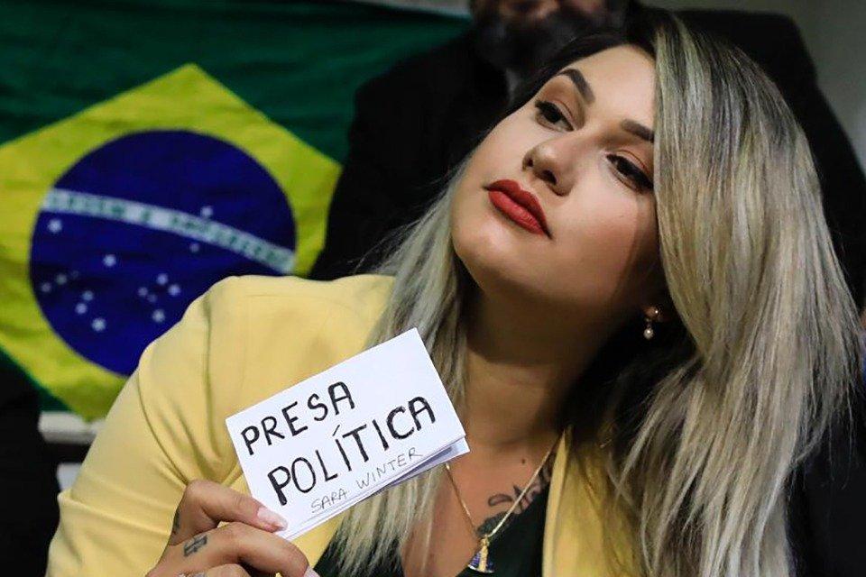 Bolsonarista Sara Winter