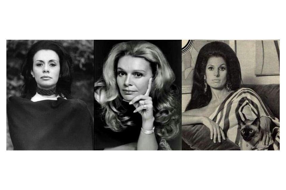 Thereza de Orleans e Bragança, Lourdes Catão e Carmen Mayrink Veiga