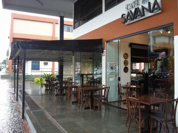 Fechada do Café Savana