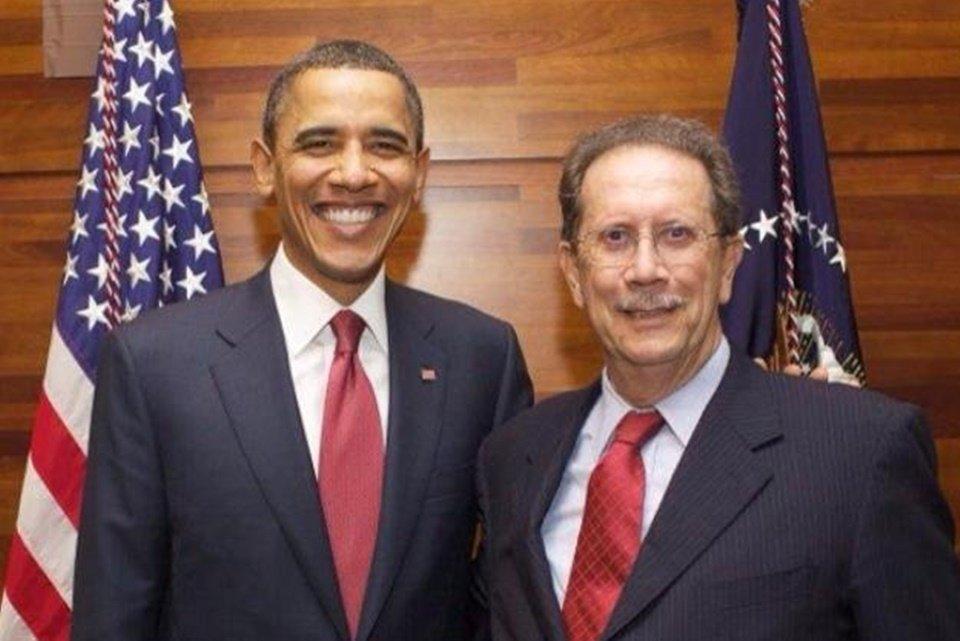 Barack Obama e Arnaldo Cunha Campos