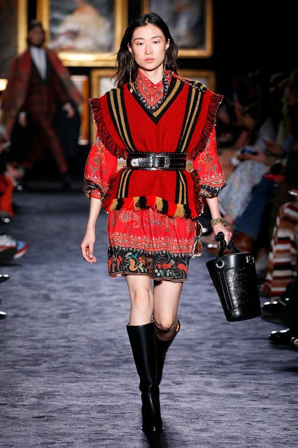 Desfile da Etro no Milan Fashion Week