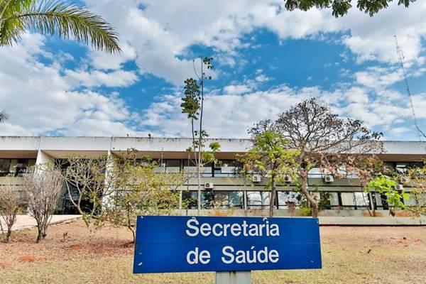 Sede da Secretaria de Saúde do DF
