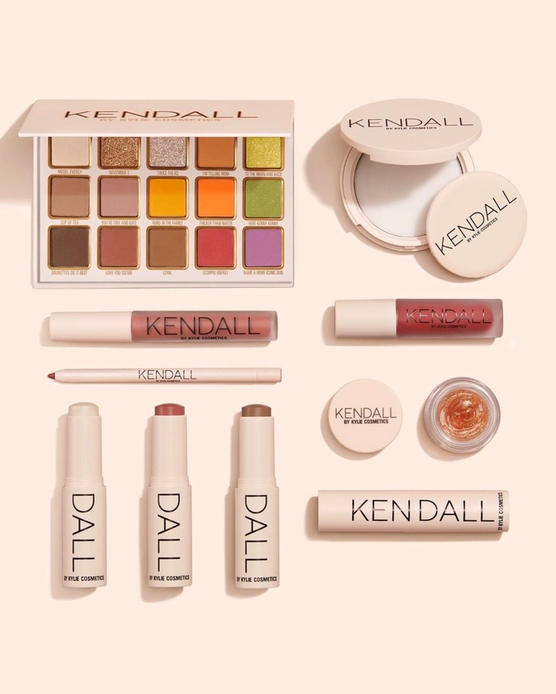 Collection Of Kendall And Kylie Cosmetics