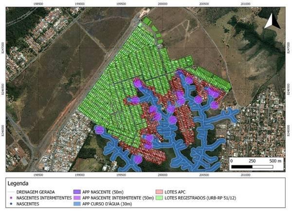 Mapa da regularização