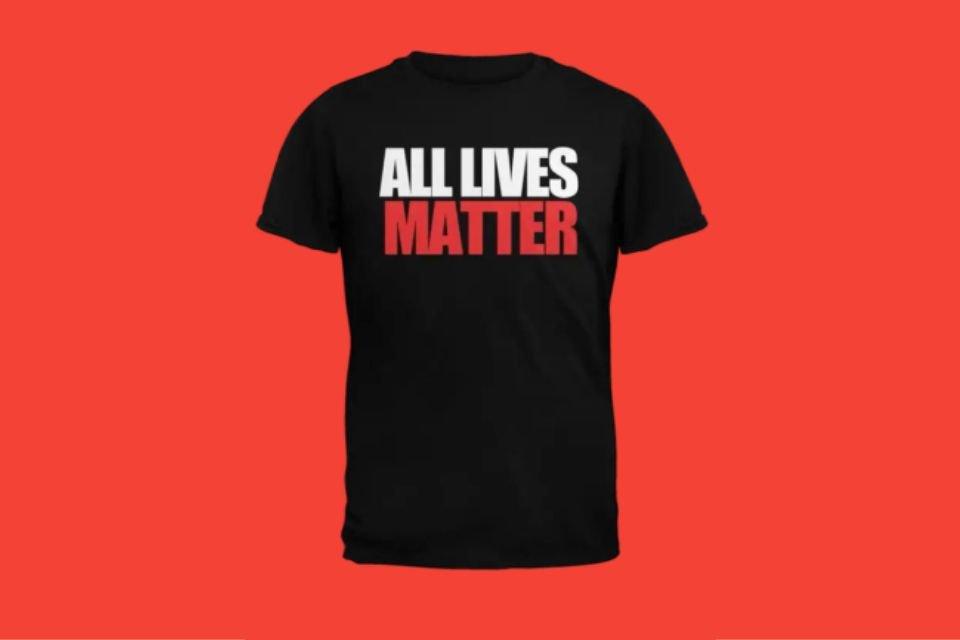 Camiseta All Lives Matter