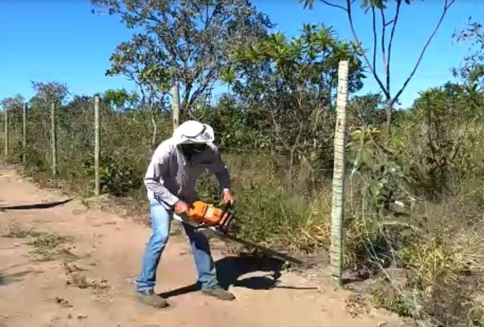 Ao lado do Fórum de Alto Paraíso, área de preservação é alvo de grilagem