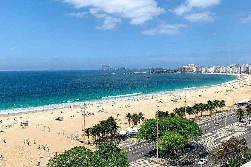 Vista Copacabana Palace