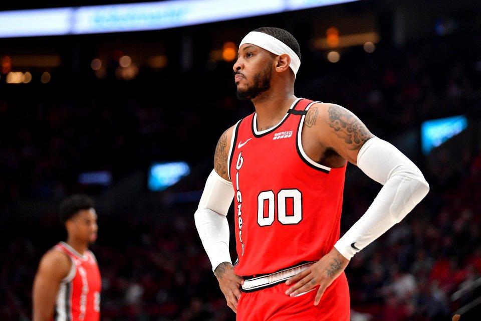 Portland Trail Blazers, Carmelo Anthony
