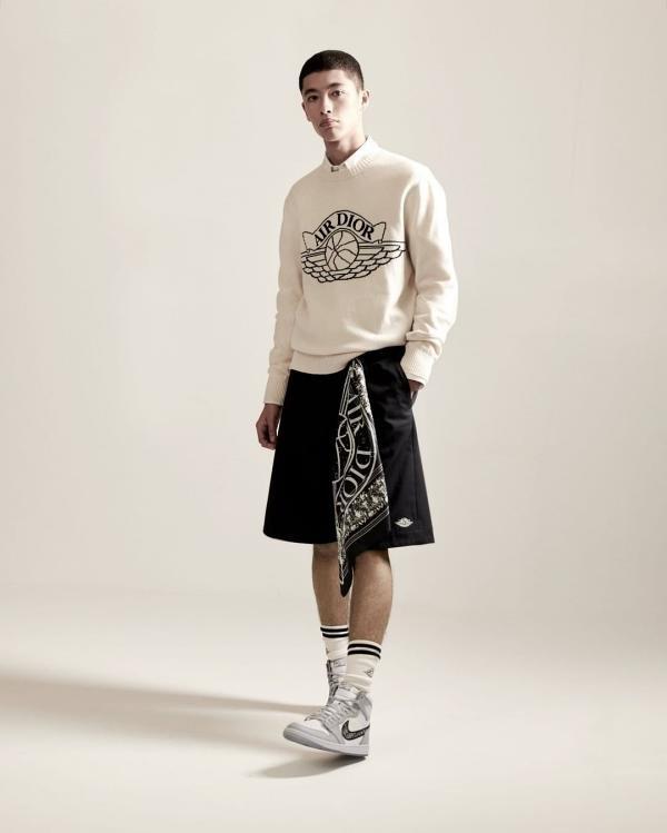 Coleção Dior x Nike