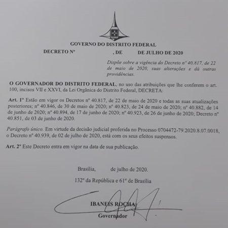 Ibaneis assina novo decreto que esclarece o que pode ou não reabrir