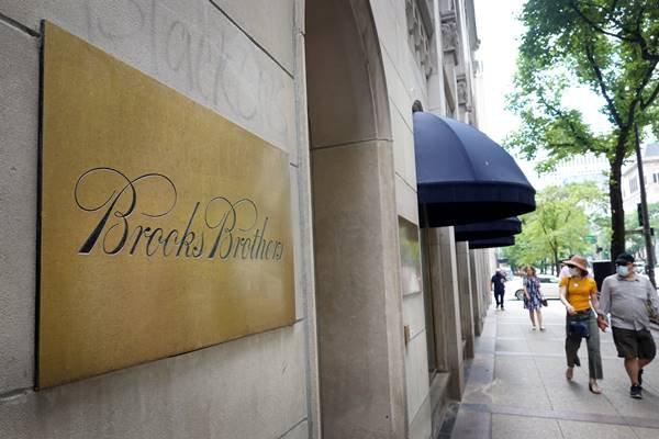 loja da Brooks Brothers