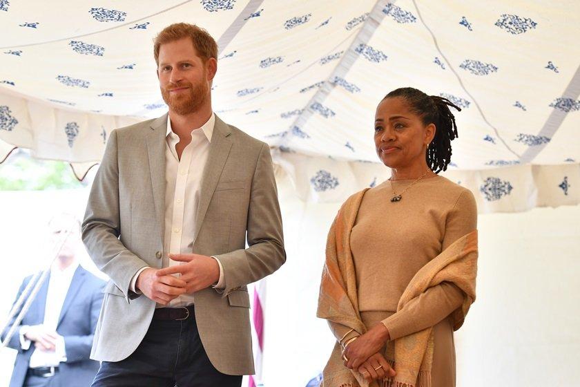 Príncipe Harry e Doria Ragland
