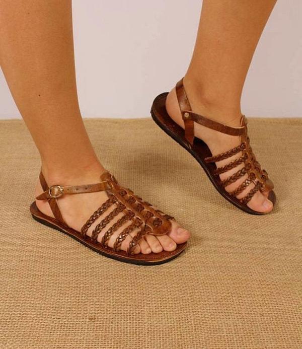 Sandália de couro original