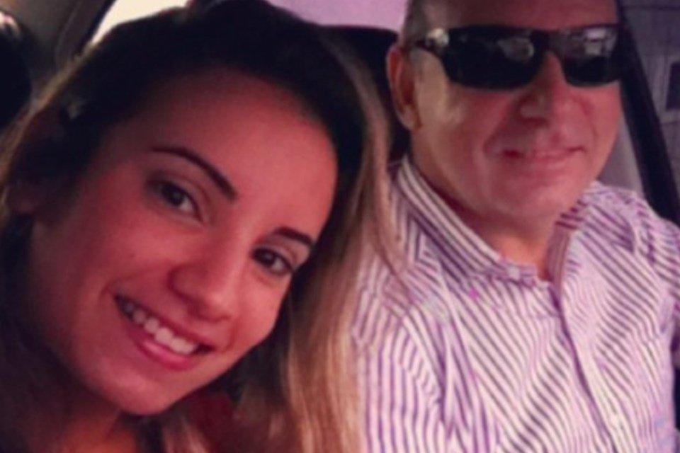 Nathália Queiroz e Fabrício Queiroz