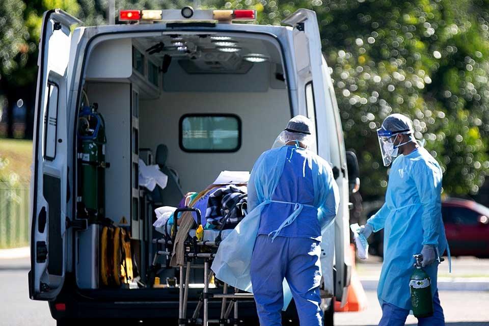 Pandemia - Coronavirus - Hospital - Com 18 mortes, DF chega a 772 óbitos por Covid-19. São 65.928 infectados