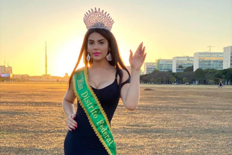 Daniela Nunes, a candidata do DF ao concurso Miss Brasil Trans 2020