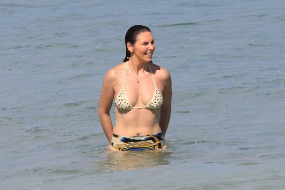 Glenda Kozlowski em Ipanema, no Rio de Janeiro