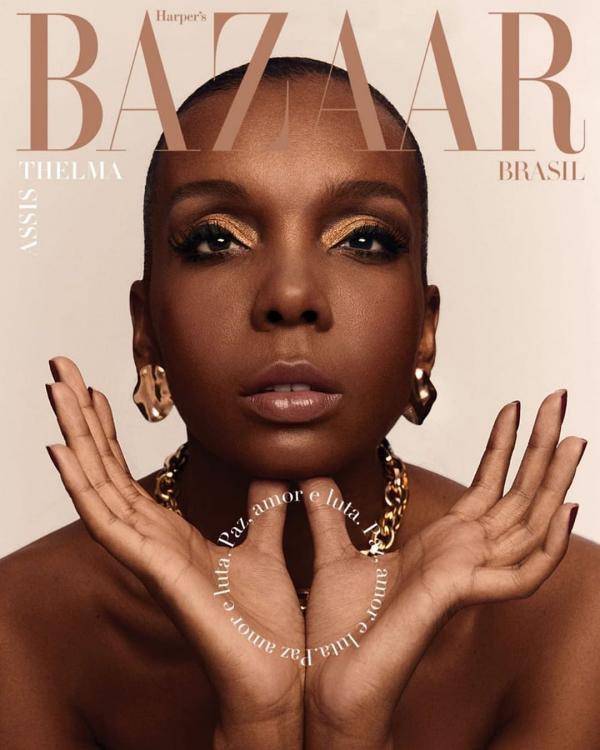 Thelminha na Harper's Bazaar Brasil