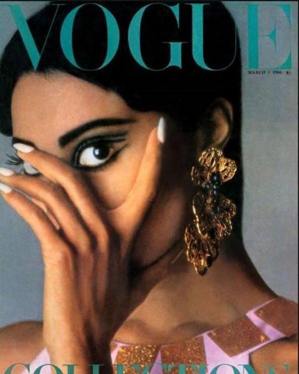 Donyale Luna na Vogue UK