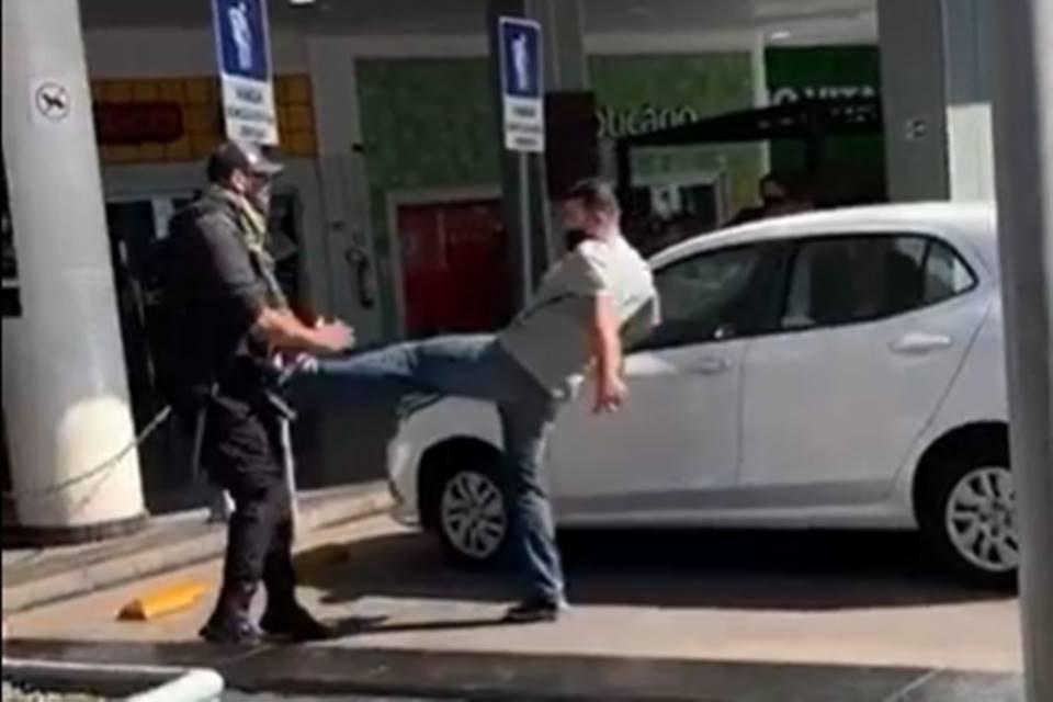 PM e segurança trocam agressões em shopping do Riacho Fundo