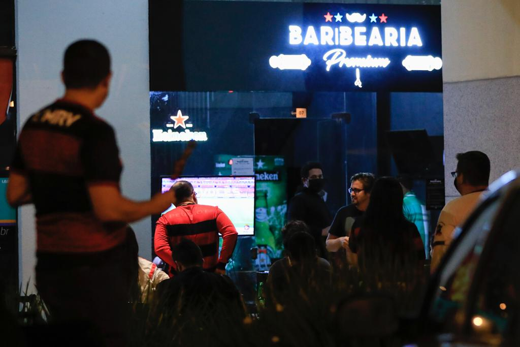 Movimento bares durante o periodo de pandemia