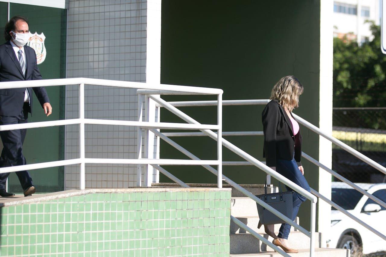 mãe de rapaz picado pela Naja deixa 14ª DP, no Gama