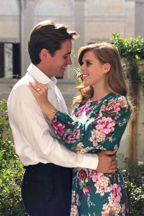 Conde Edoardo e princesa Beatrice