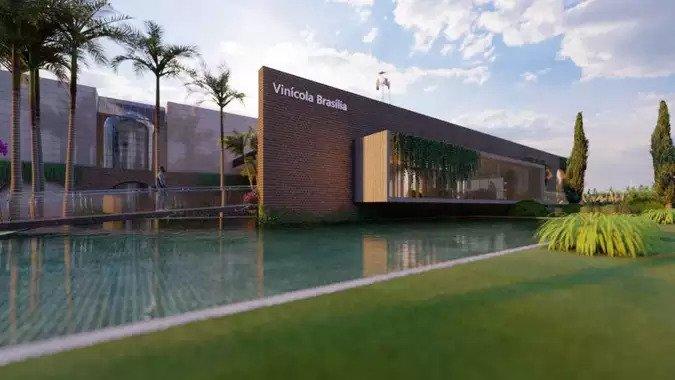 Fachada Vinícola Brasília