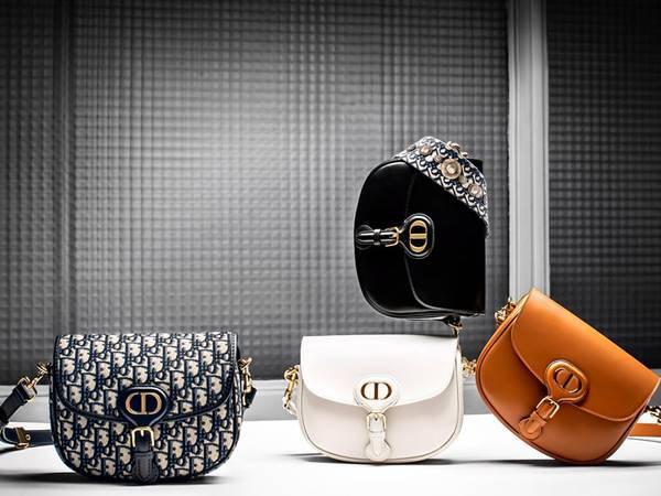 Bolsas da Dior em diferentes cores