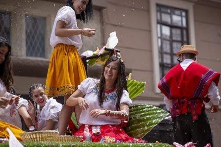 Cuenca, Equador, festival
