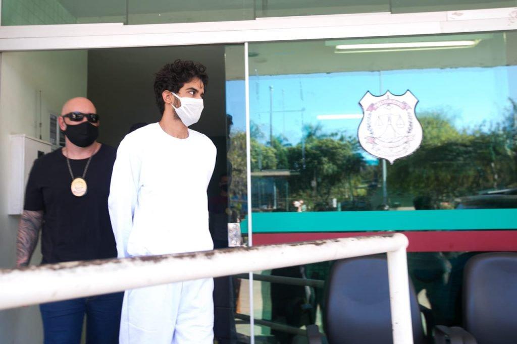 Gabriel Ribeiro, preso